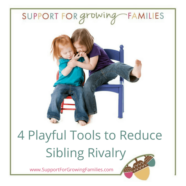 Games to help with sibling rivalry